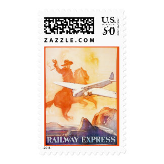 Railway Express Agency 1935 Postage Stamps