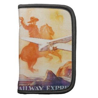 Railway Express Agency 1935 Rickshaw Folio Folio Planners