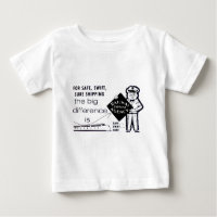 Railway Express Agency 1959 Infant T-Shirt