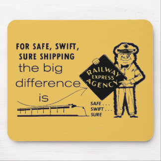 Railway Express Agency 1959 Mouse Pad