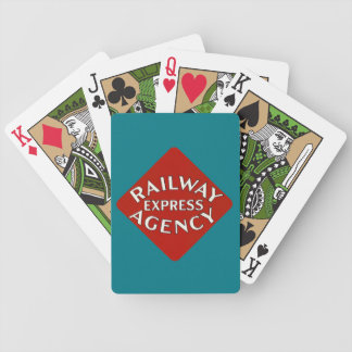 Railway Express Agency Bicycle Playing Cards