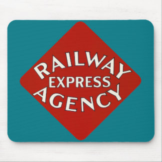 Railway Express Agency Mouse Pad