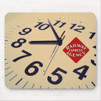 Railway Express Agency On Time Mouse Pad