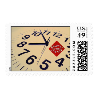 Railway Express Agency On Time Postage