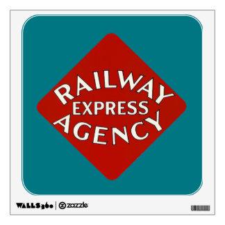 Railway Express Agency Wall Decal