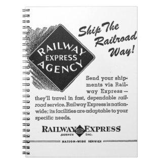 Railway Express Notebook