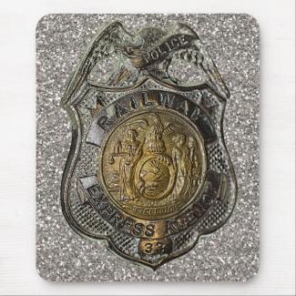 Railway Express Police Badge