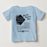 Railway Express - Ship The Railroad Way Baby T-Shirt