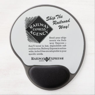 Railway Express; Ship The Railroad Way Mousepads