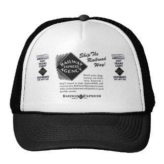 Railway Express - Ship The Railroad Way Trucker Hat