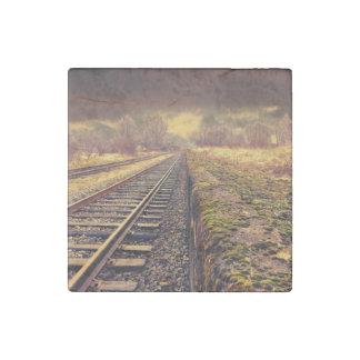 Railway Stone Magnet