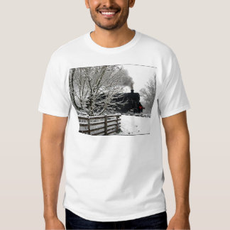 Railway in Snow Shirt