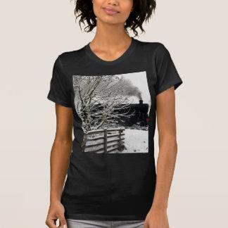 Railway in Snow T Shirt