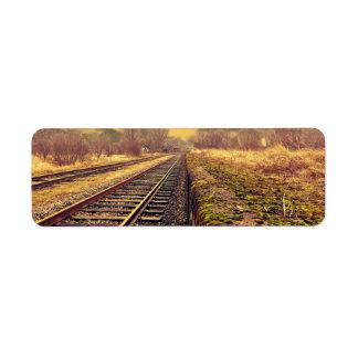 Railway Label