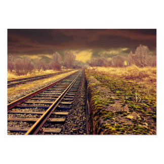 Railway Large Business Card