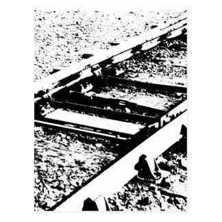 Railway Lines Postcard