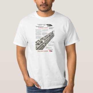 Railway Mail on the New York Central Railroad 1943 T-Shirt