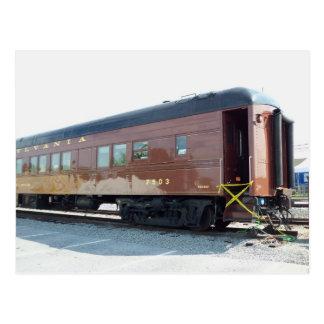 Railway Passenger Car.  Strasburg, PA Postcard