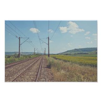 Railway Photographic Print