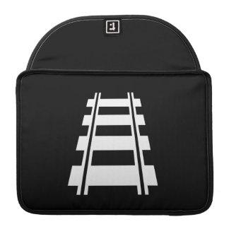 Railway Pictogram MacBook Pro Sleeve