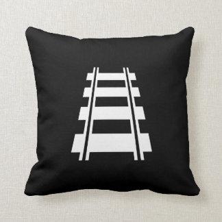 Railway Pictogram Throw Pillow