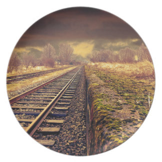 Railway Party Plates