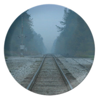 Railway Dinner Plates
