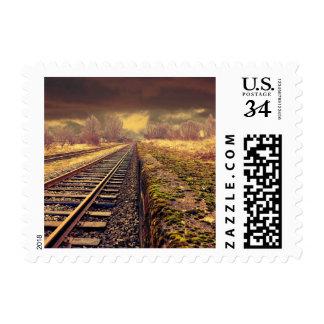 Railway Postage Stamp