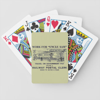 Railway Postal Clerk 1926 Bicycle Playing Cards