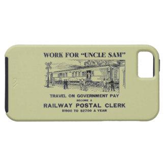 Railway Postal Clerk 1926 iPhone 5 Cover