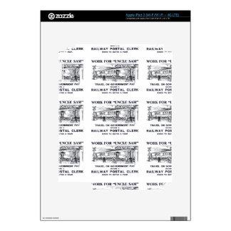 Railway Postal Clerk 1926 iPad 3 Decals