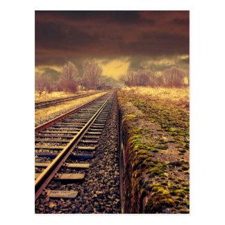 Railway Postcard