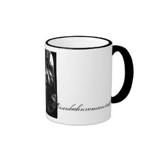 Railway romance ringer coffee mug