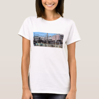 Railway station in bedroom town T-Shirt