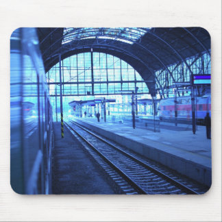 Railway Station Mouse Pad