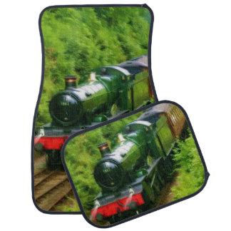 Railway Steam Train for Trainspotters Art Car Mats