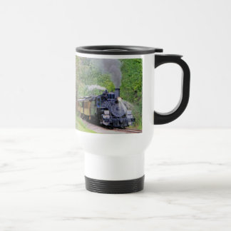 Railway Steam Train for Trainspotters Art I Travel Mug