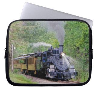 Railway Steam Train for Trainspotters Art II Computer Sleeve
