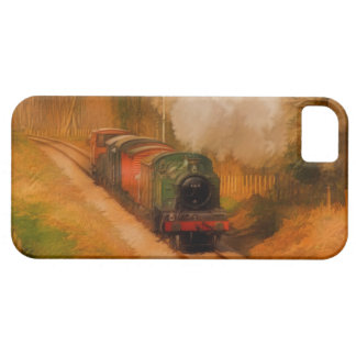 Railway Steam Train for Trainspotters Art iPhone SE/5/5s Case