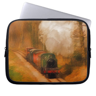 Railway Steam Train for Trainspotters Art Laptop Computer Sleeves