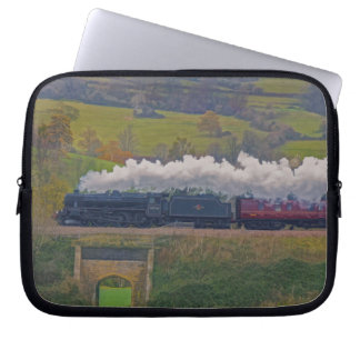 Railway Steam Train for Trainspotters Art Laptop Sleeves