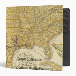 Railway, steamship lines Southern Pacific Company Binder