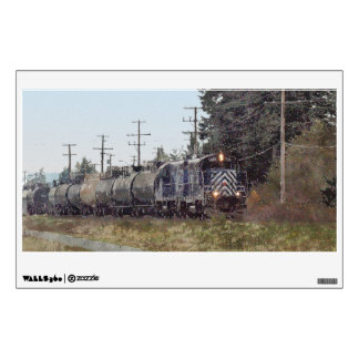 Railway Train for Trainspotters Arty Wall Decal