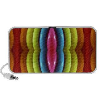Raimbow Colors Doodle Portable Speaker