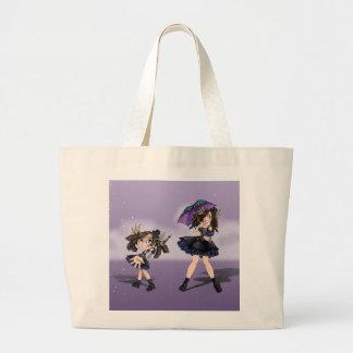 Raimei Murasaki Large Tote Bag