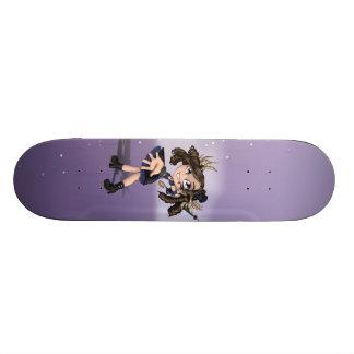 Raimei Murasaki Skateboard Deck