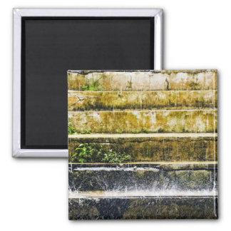 Rain 2 Inch Square Magnet