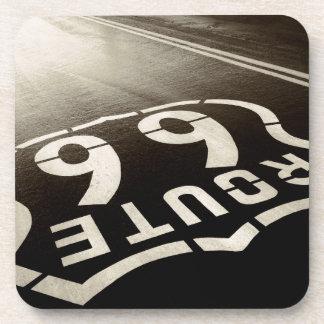 Rain and Route 66 Coaster