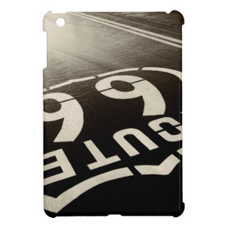Rain and Route 66 Cover For The iPad Mini
