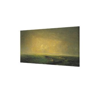 Rain and Sun, c.1873 Canvas Print